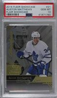 Row 0 Rookies - Auston Matthews [PSA 10 GEM MT]