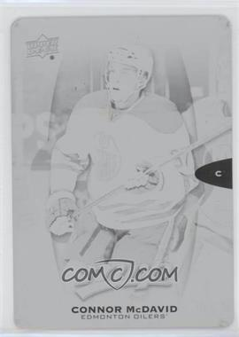 2016-17 Upper Deck MVP - [Base] - Printing Plate Black #242 - Connor McDavid /1