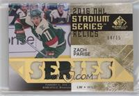Chi vs Min - Zach Parise #/15