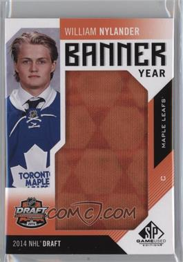 2016-17 Upper Deck SP Game Used - Banner Year Draft Year 2014 #BD14-WN - William Nylander
