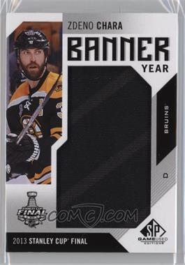 2016-17 Upper Deck SP Game Used - Banner Year Stanley Cup #BSC-ZC - 2013 - Zdeno Chara