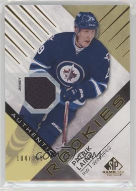 2016-17 Upper Deck SP Game Used - [Base] - Gold Material [Memorabilia] #185 - Authentic Rookies - Patrik Laine /399