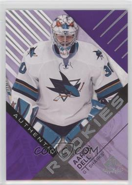 2016-17 Upper Deck SP Game Used - [Base] - Purple #142 - Authentic Rookies - Aaron Dell