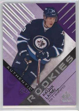 2016-17 Upper Deck SP Game Used - [Base] - Purple #185 - Authentic Rookies - Patrik Laine
