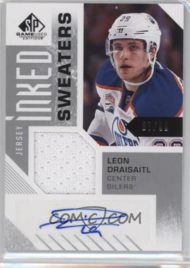 2016-17 Upper Deck SP Game Used - Inked Sweaters #IS-LD - Leon Draisaitl /99