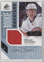Michael Matheson #/499