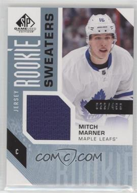 2016-17 Upper Deck SP Game Used - Rookie Sweaters #RS-MM - Mitch Marner /499
