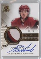Rookie Patch Autograph - Anthony DeAngelo /24