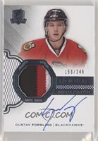 Rookie Patch Autograph - Gustav Forsling /249