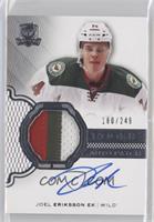 Rookie Patch Autograph - Joel Eriksson Ek #/249