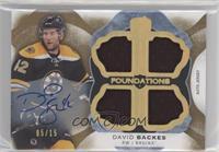David Backes #/15
