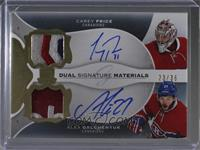 Carey Price, Alex Galchenyuk #23/35