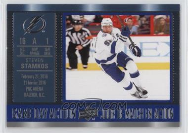 2016-17 Upper Deck Tim Hortons Collector's Series - Game Day Action #GDA-11 - Steven Stamkos