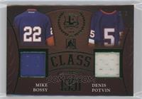 Mike Bossy, Denis Potvin #/5