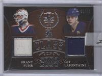 Grant Fuhr, Pat LaFontaine [Uncirculated] #/45
