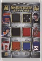 Wayne Gretzky, Mario Lemieux, Paul Coffey, Patrick Roy, Mark Howe, Mike Bossy /5