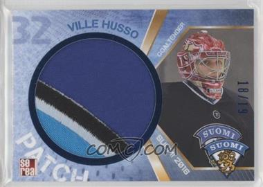2016 Sereal Team Finland - Patch #FIN-PAT-001 - Ville Husso /19