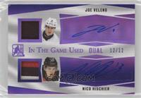 Joe Veleno, Nico Hischier #/12