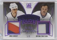 Mike Bossy , Bryan Trottier #/5