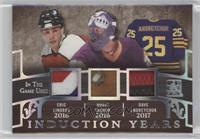 Eric Lindros, Rogie Vachon, Dave Andreychuk #/2