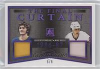 Gilbert Perreault , Mike Bossy #/9