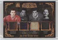 Maurice Richard, Toe Blake, Bill Durnan, Elmer Lach #3/3