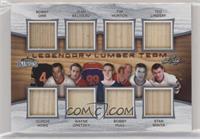 Bobby Orr, Gordie Howe, Jean Beliveau, Wayne Gretzky, Tim Horton, Bobby Hull, T…