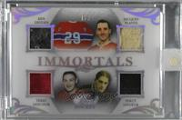 Ken Dryden, Jacques Plante, Terry Sawchuk, Percy LeSueur [Uncirculated] #/2