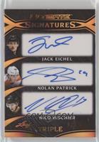 Jack Eichel, Nolan Patrick, Nico Hischier #/25