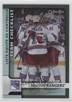 Team Checklist - New York Rangers Team #/100