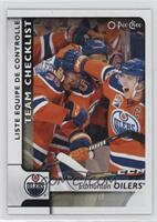 Team Checklist - Edmonton Oilers