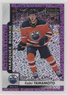 2017-18 O-Pee-Chee Platinum - [Base] - Violet Pixels #163 - Marquee Rookies - Kailer Yamamoto