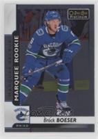 Marquee Rookies - Brock Boeser
