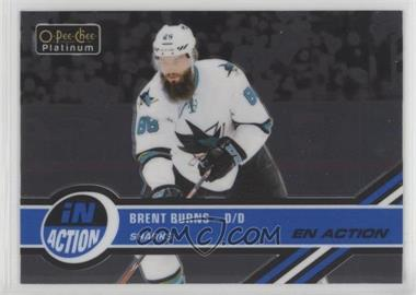 2017-18 O-Pee-Chee Platinum - In Action #IA-11 - Brent Burns