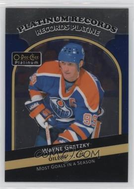 2017-18 O-Pee-Chee Platinum - Records #PR-2 - Wayne Gretzky