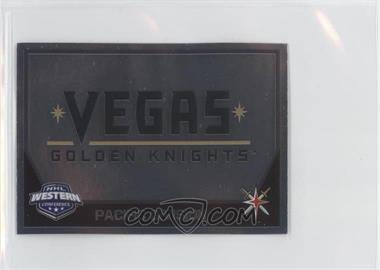 2017-18 Panini NHL Sticker Collection Album Stickers - [Base] #416 - Vegas Golden Knights