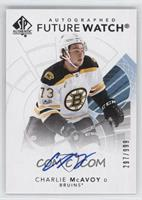 Future Watch Autographs - Charlie McAvoy /999