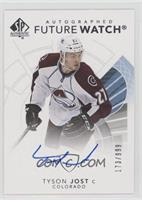 Future Watch Autographs - Tyson Jost #173/999