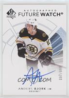 Future Watch Autographs - Anders Bjork /999