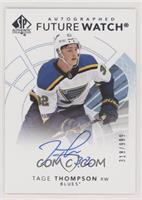 Future Watch Autographs - Tage Thompson #/999