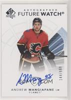Future Watch Autographs - Andrew Mangiapane /999