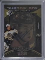 Shadow Box Rookies Auto Variant Tier 2 - Charlie McAvoy #/8