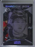 Shadow Box Rookies - Logan Brown #/298