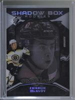 Shadow Box Rookies - Charlie McAvoy #/298