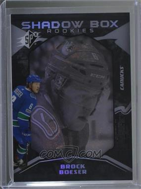 2017-18 SPx - [Base] #45 - Shadow Box Rookies - Brock Boeser /298