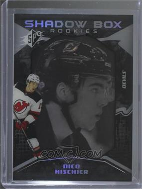 2017-18 SPx - [Base] #50 - Shadow Box Rookies - Nico Hischier /298