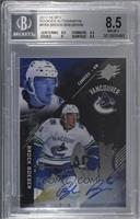 Tier 2 - Brock Boeser /99 [BGS 8.5 NM‑MT+]