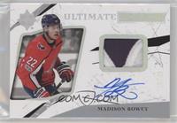 Ultimate Rookies Auto - Madison Bowey #/49