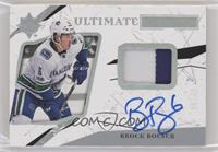 Ultimate Rookies Auto - Brock Boeser #/49