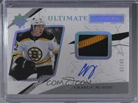 Ultimate Rookies Auto - Charlie McAvoy /49